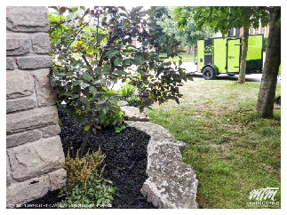 Natural Stone Garden & Mulch In Richmond Hill